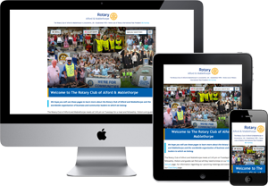 Preview of The AM Rotary Website