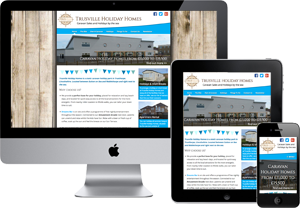 Preview of The Trusville Holiday Homes website