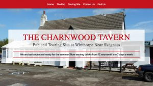 Charnwood Tavern Website After the Re-write