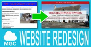 Charnwood Tavern Website Redesign