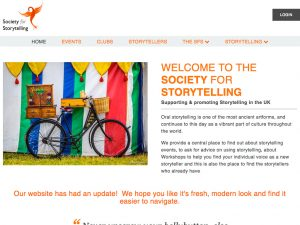 The Society for Stroytelling Homepage