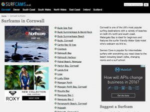 Click to visit the surfcams.co.uk Website